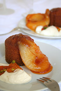 Spiced financiers SHF